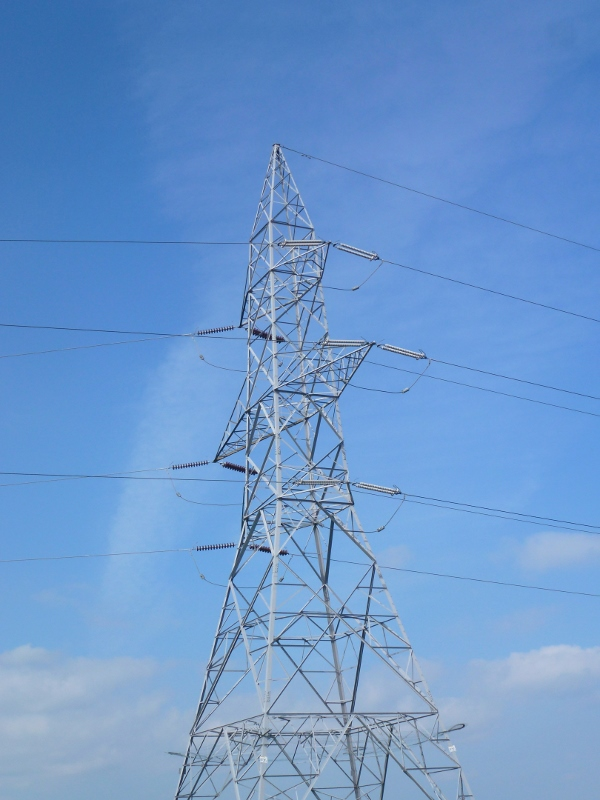EirGrid pylon at Ballykelly, Co. Louth near Inniskeen Photo © Michael Fisher