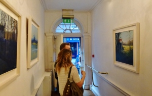 Kate Beagan's Paintings at The Doorway Gallery, Dublin  Photo © Michael Fisher