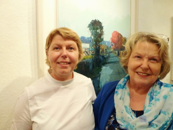 Kate Beagan and her sister Karen Carleton Photo © Michael Fisher