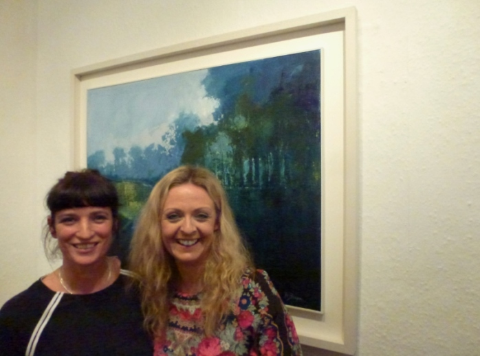 Owners of The Doorway Gallery, Deirdre Carroll and Denise Donnelly Photo © Michael Fisher