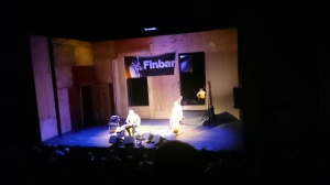 Finbar Furey at the Lyric Theatre Belfast Photo:  © Michael Fisher