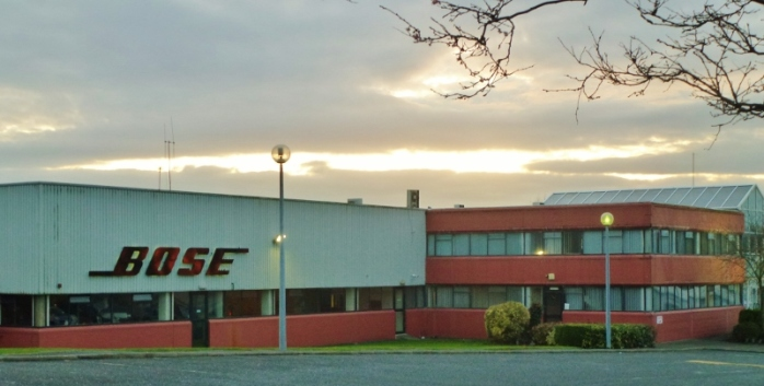 Bose Factory Carrickmacross  Photo: © Michael Fisher