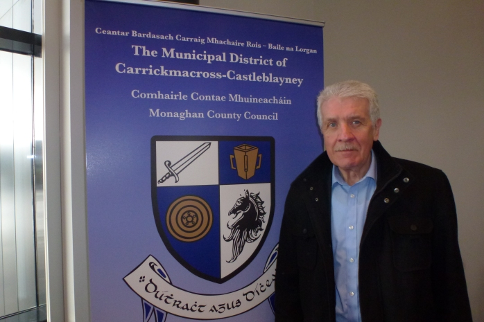 Cathaoirleach of Carrickmacross Castleblayney Municipal District, Councillor Jackie Crowe  Photo:  © Michael Fisher