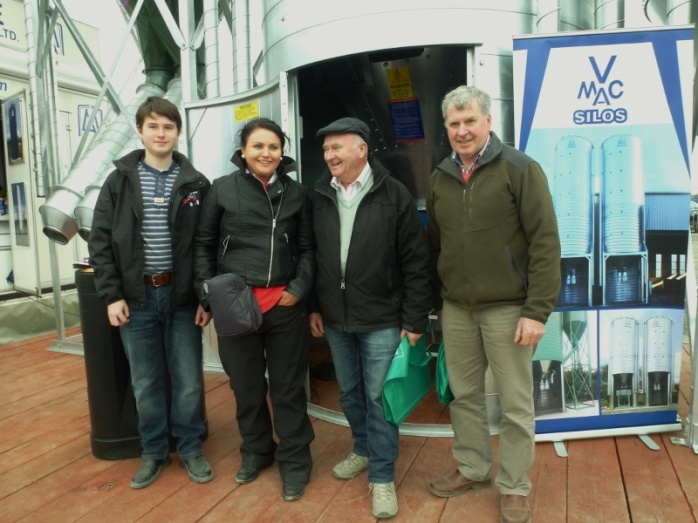 At the McAree Engineering (Ballinode) Stand at Balmoral Show Photo:  © Michael Fisher