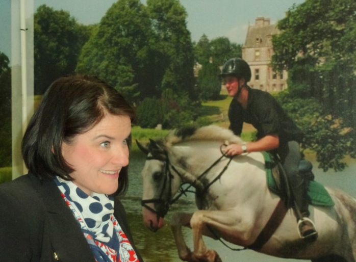 Eimear Winters, Castle Leslie estate, Glaslough at Balmoral Show Photo:  © Michael Fisher