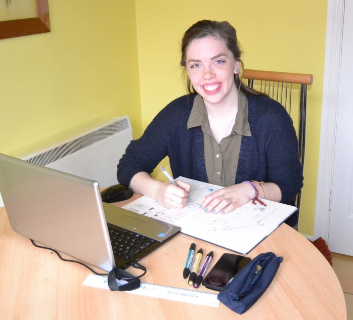 Róisín Keyes from Carrickmacross, a student at DIT