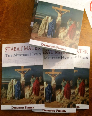 'Stabat Mater, The Mystery Hymn,' by Desmond Fisher, was launched in Donnybrook last week Photograph: Patrick Comerford, 2015