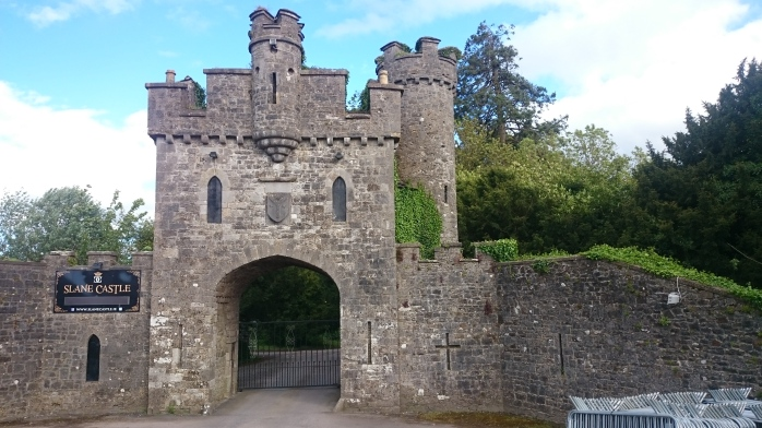 An entrance to the current Slane Castle, Co. Meath Photo:  © Michael Fisher