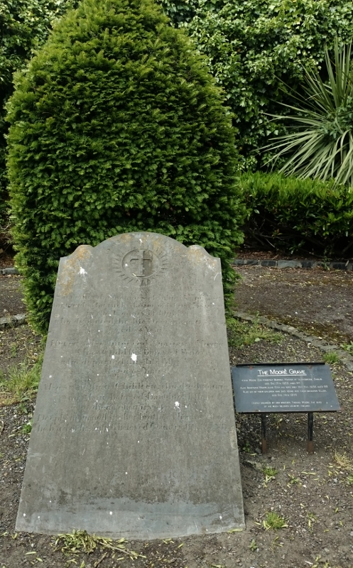 The Moore Grave, St Kevin's Park Photo:  © Michael Fisher