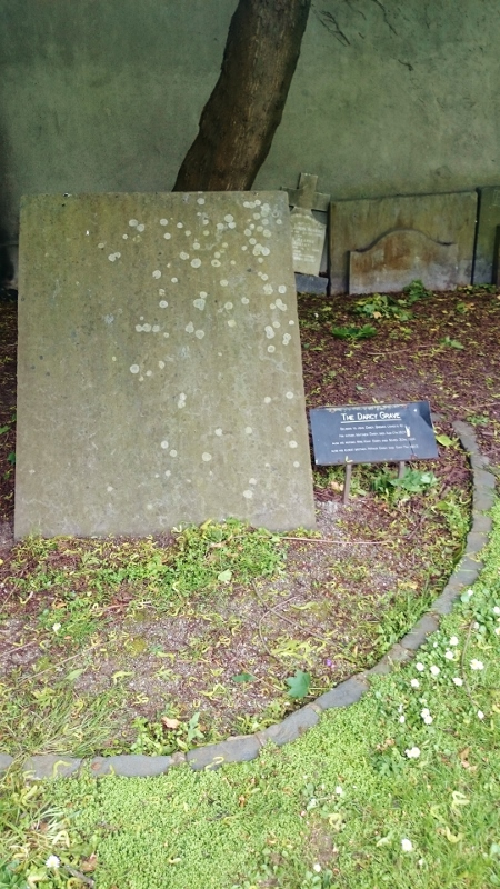 The Darcy Grave, St Kevin's Park Photo:  © Michael Fisher