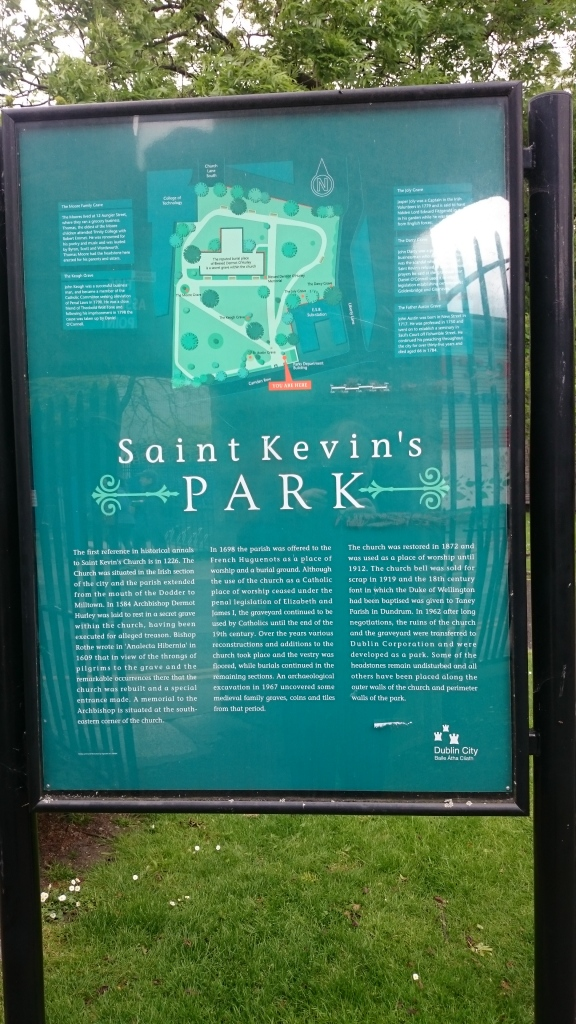 Saint Kevin's Park, Dublin. Photo:  © Michael Fisher