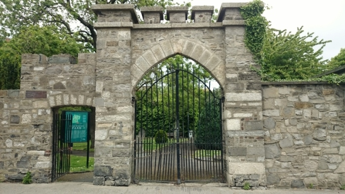 Entrance to St Kevin's Park, Dublin Photo:  © Michael Fisher