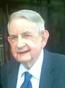 The late Desmond Fisher, former London Editor, The Irish Press  Photo:  © Michael Fisher