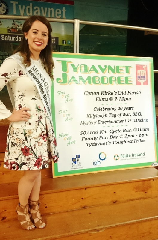 Monaghan Rose Michelle Caulfield from Scotstown launches the Tydavnet Jamboree programme  Photo:  © Michael Fisher