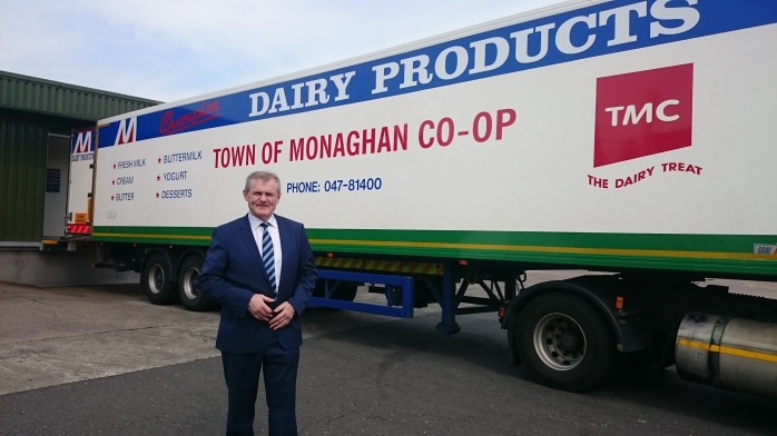 Town of Monaghan Co-op CEO Gabriel D'Arcy at Coolshannagh  Photo:  © Michael Fisher