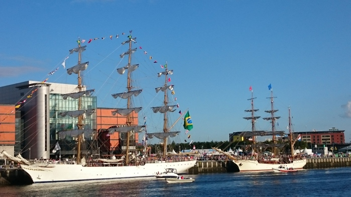 Tall Ships 2015 Belfast  Photo:  © Michael Fisher