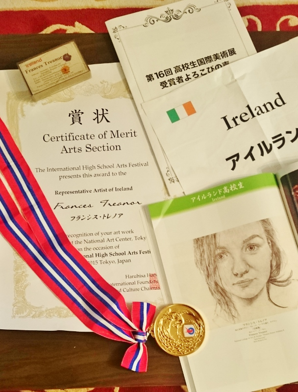 Souvenirs from Frances Treanor's trip to Japan for an international art exhibition  Photo:  © Michael Fisher