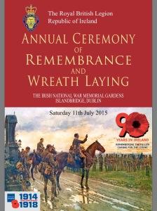 Royal British Legion Ceremony of Remembrance