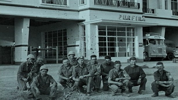 Group of Jadotville Soldiers Picture: RTE