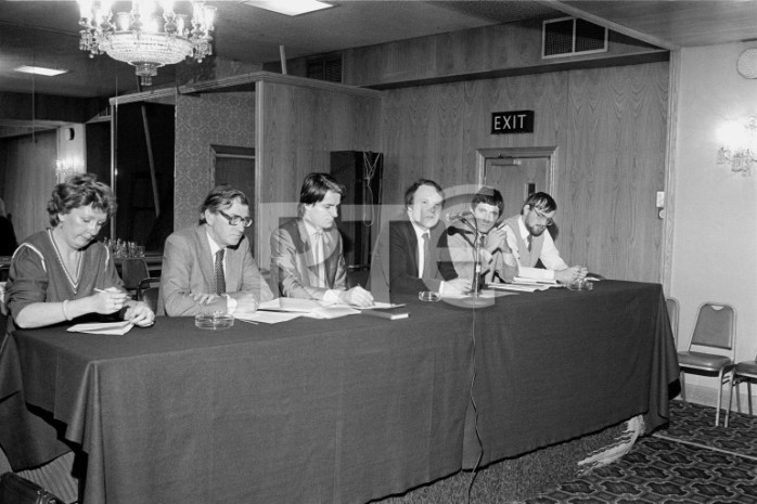 NUJ seminar on proposed local radio bill (1983)